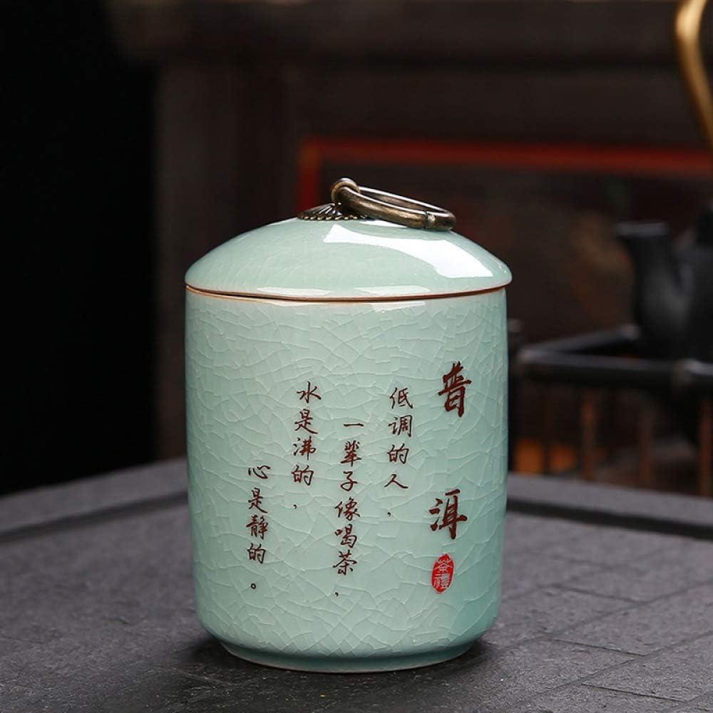 gousheng Lagertanks Kleine Gl/äSer Mit Tee Versiegelte Tanks Zum Lagern Von Teebeuteln Kaffee Kerzen Dosen Salz S/ü/ßIgkeiten 11 * 7,6 cm