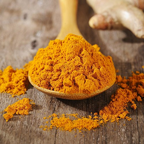 Cha's Organics Healthy & Delicious Organic Fairtrade Turmeric Powder - Nutritious & Fragrant Pure Ground Curcumin From Sri Lanka, Asian Superfood Perfect For Meat, Curries, Vegetables & More - 17.6oz by Cha's Organics (Image #1)