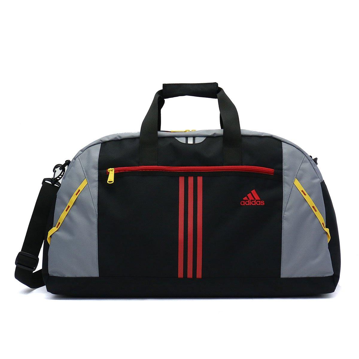 [アディダス]adidas ボストンバッグ キッズ 46L 47949 B07BGWC7J6 ブラック(01) ブラック(01)