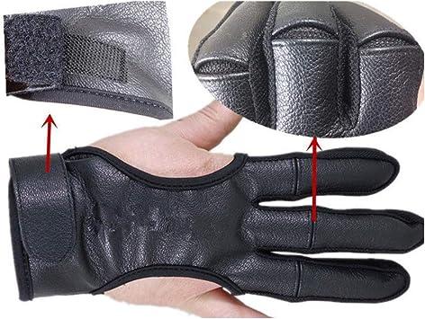 Archery Deer Leather Shooting Glove