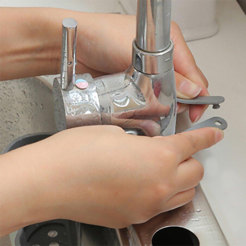 sun/·light Useful Suction Cup Sink Shelf Soap Sponge Rack Kitchen Sucker Storage Tool Attached Wall Kitchen Sink Shelf Hanging Basket Storage Bag Beige