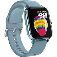 BINDEN Smartwatch P8 Oxímetro, Ritmo Cardíaco, Pantalla Touch, Multicarátulas, Salud y MultiDeportes iOS/Android, Azul…