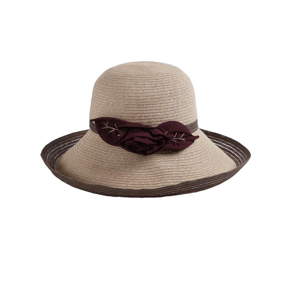 DALL Cappelli da Sole Cappello LY-101 Cappello Sole di Estate delle Donne  Cappello Visiera Il Sole Cappello Cappello di Paglia Berretto da Spiaggia  Cappello ... 59e544965688