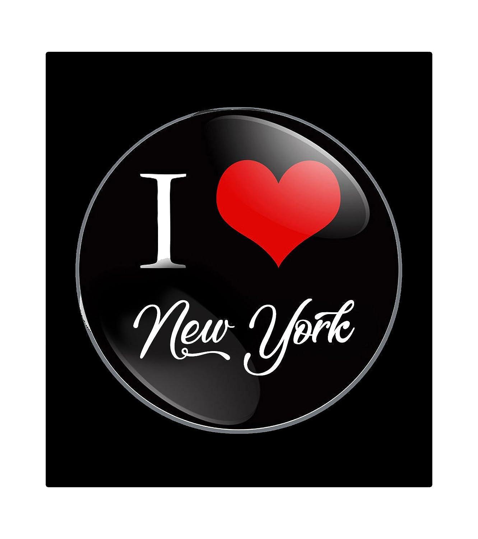 I Love New York Pin-back Badge 1.25 for Jackets, Backpacks, etc.
