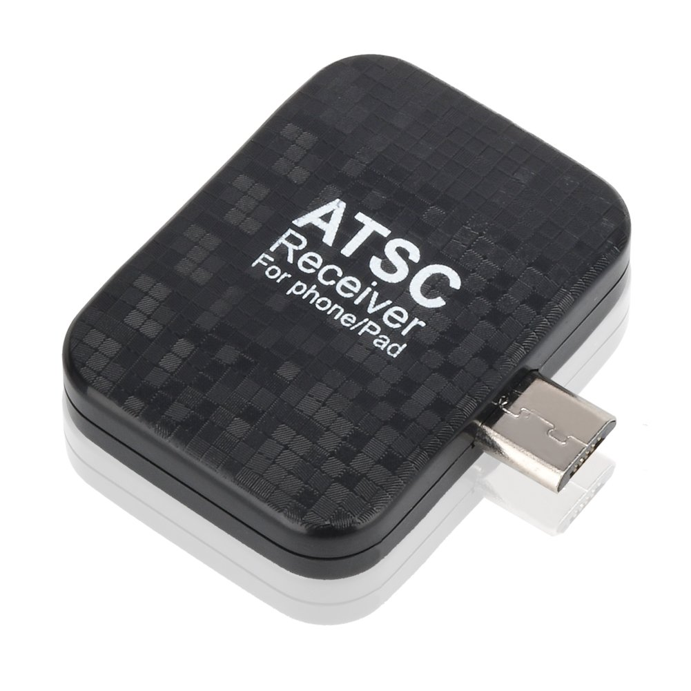 Rybozen Mini Digital TV Tuner ATSC TV Receiver for Android Phones/Pad - Special for USA,Mexico,Canada