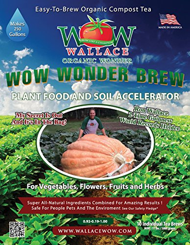 Wallace Organic Wonder, Wonder Brew Compost Tea