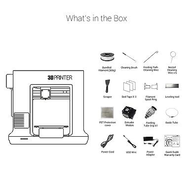 XYZ Printing Impresora 3D da Vinci mini w+ (totalmente ensamblada ...