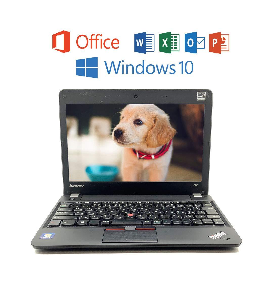 完売 Microsoft OFFICE 2016 搭載【Windows 10 10 11.6 Pro搭載】 4 Lenovo ThinkPad E145, AMD E1, 大容量 4 GB メモリ, 320 GB HDD, 無線搭載, USB, 11.6 インチ HD TFT液晶 中古ノートパソコン B07MY2CJNC, Bun!Bo!グ!:7a55284a --- ciadaterra.com