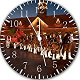 Clydesdale Horse Frameless Borderless Wall Clock E175 Nice For Gift or Room Wall Decor