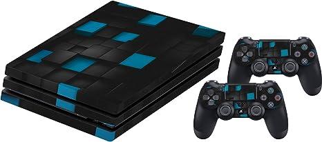 Sony PlayStation 4 Pro Skin Set, pegatinas para consola PS4 Pro y ...