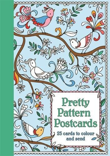 Pretty Pattern Postcards Graphic Design Postcards