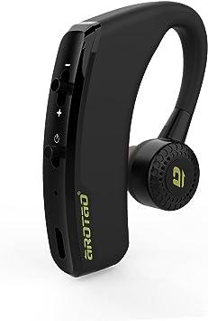 AROTAO Auricular Bluetooth inalámbrico Manos Libres Auriculares Bluetooth Ear Hook con Mic Compatible con Apple iPhone, Samsung Galaxy y Android Móvil, etc.: Amazon.es: Electrónica