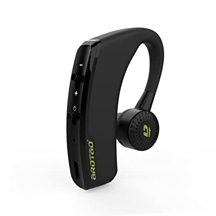 AROTAO Auricular Bluetooth inalámbrico Manos Libres Auriculares Bluetooth Ear Hook con Mic Compatible con Apple iPhone