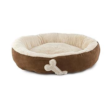 Cama para perros y gatos, suave, ovalada, antideslizante, P744: Amazon.es: Productos para mascotas
