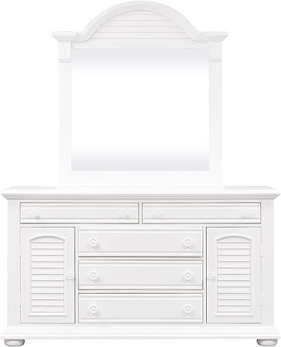 Liberty Furniture Industries Summer House I Dresser Mirror - a good cheap bedroom dresser