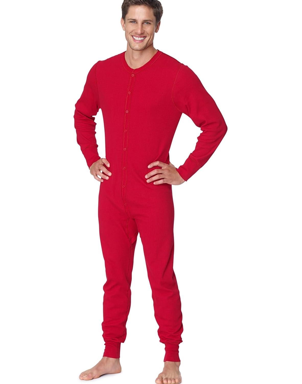 Hanes X-Temp Mens Organic Cotton Thermal Union Suit