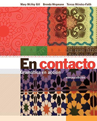 Bundle: En contacto: Gramática en accion, 9th + iLrn 3-Semester Printed Access Card