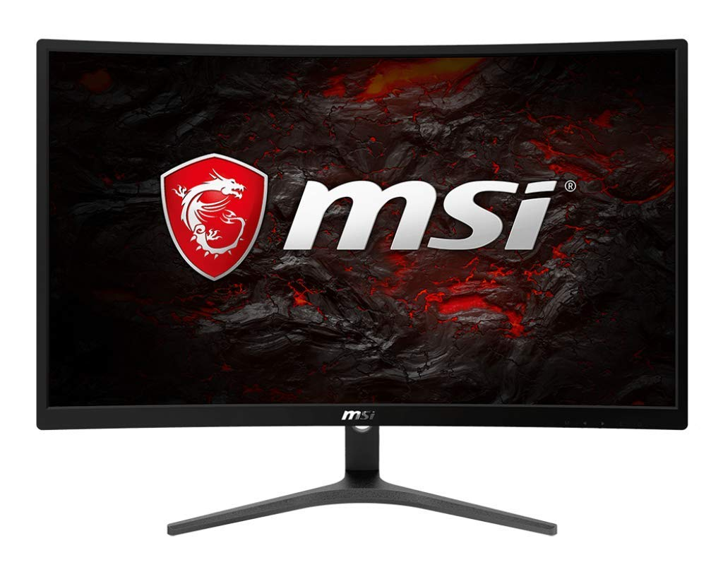 MSI Full HD FreeSync Gaming Monitor 24 Curved Non-Glare 8ms LED Wide Screen 1920 X 1080 75Hz Refresh Rate Optix G24VC