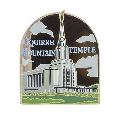 Amazon com: LDS Oquirrh Mountain Temple Pin: Jewelry