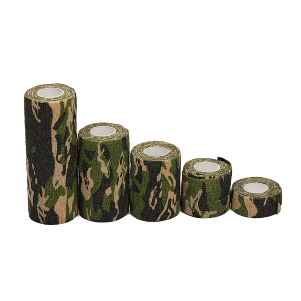 Self Adherent Camo Cohesive Bandage First Aid Medical Wrap Elastic Althetic Tape for Wrist for Outdoor