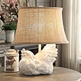 Crestview Collection Rooster White Wash Accent Table Lamp Review