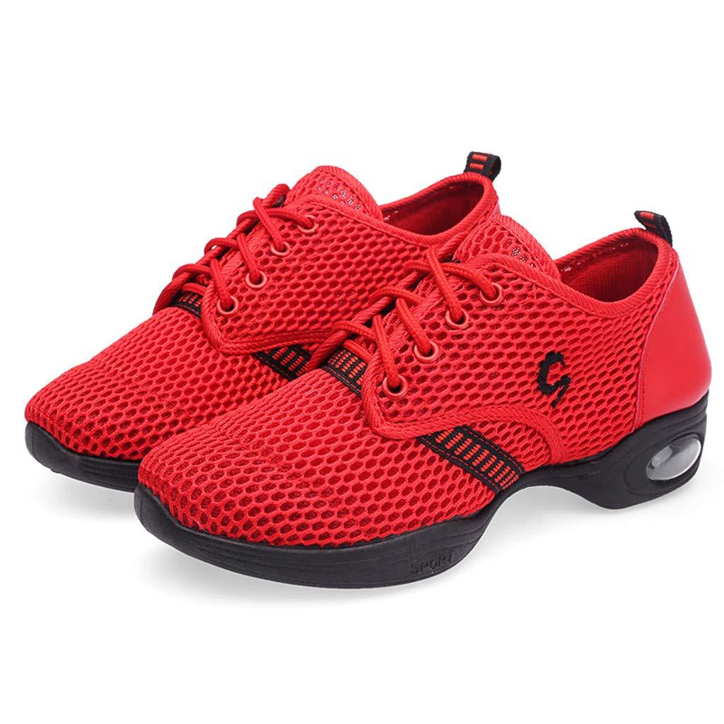 d02fe078e8fee Hopitaux et de Cuisine Bluestercool 2019 Chaussures de Danse Femme Fashion  Respirant Sneakers Danse Rumba Valse Balroom Salsa ...