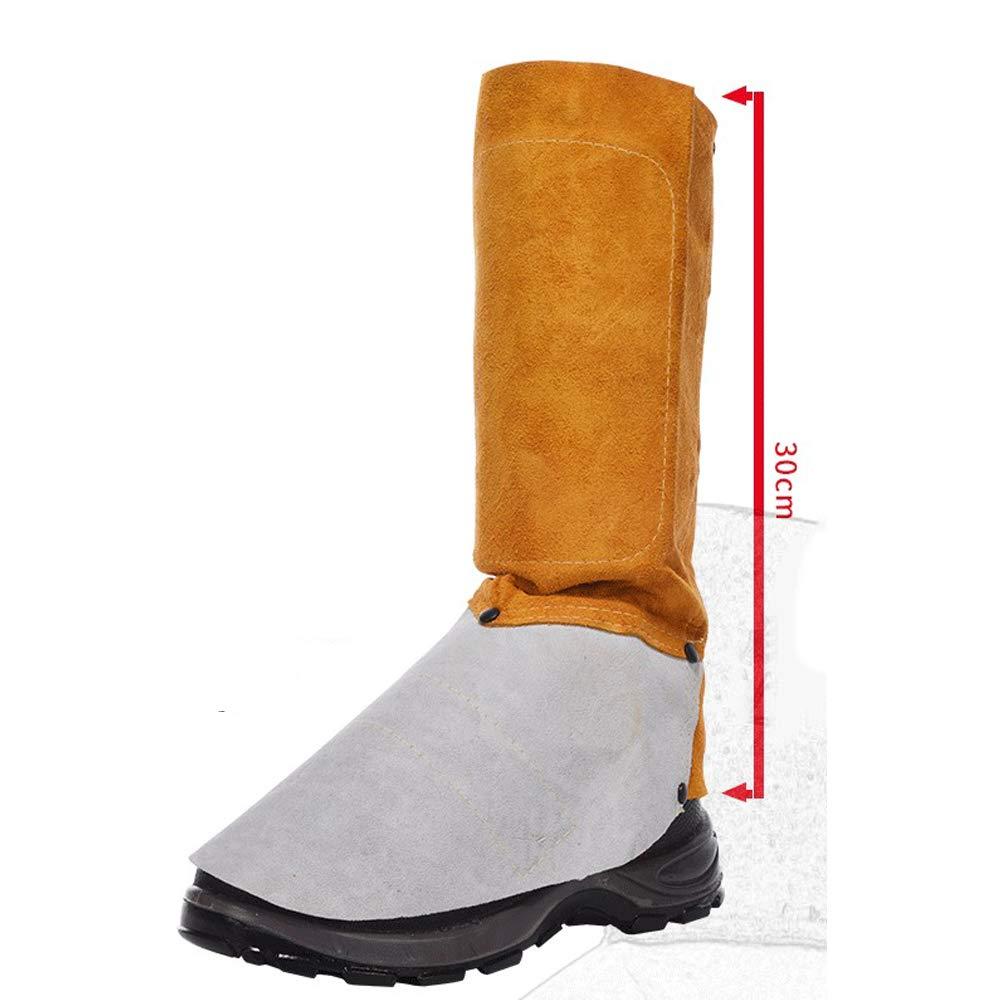 L Schweiß Leder Bein Wächter Abdecken Fußhülse Schweißfeste Spezielle Schutzschuhe Abdecken Wächter Schuhe Schutz Schutz Artikel - 7ac99a