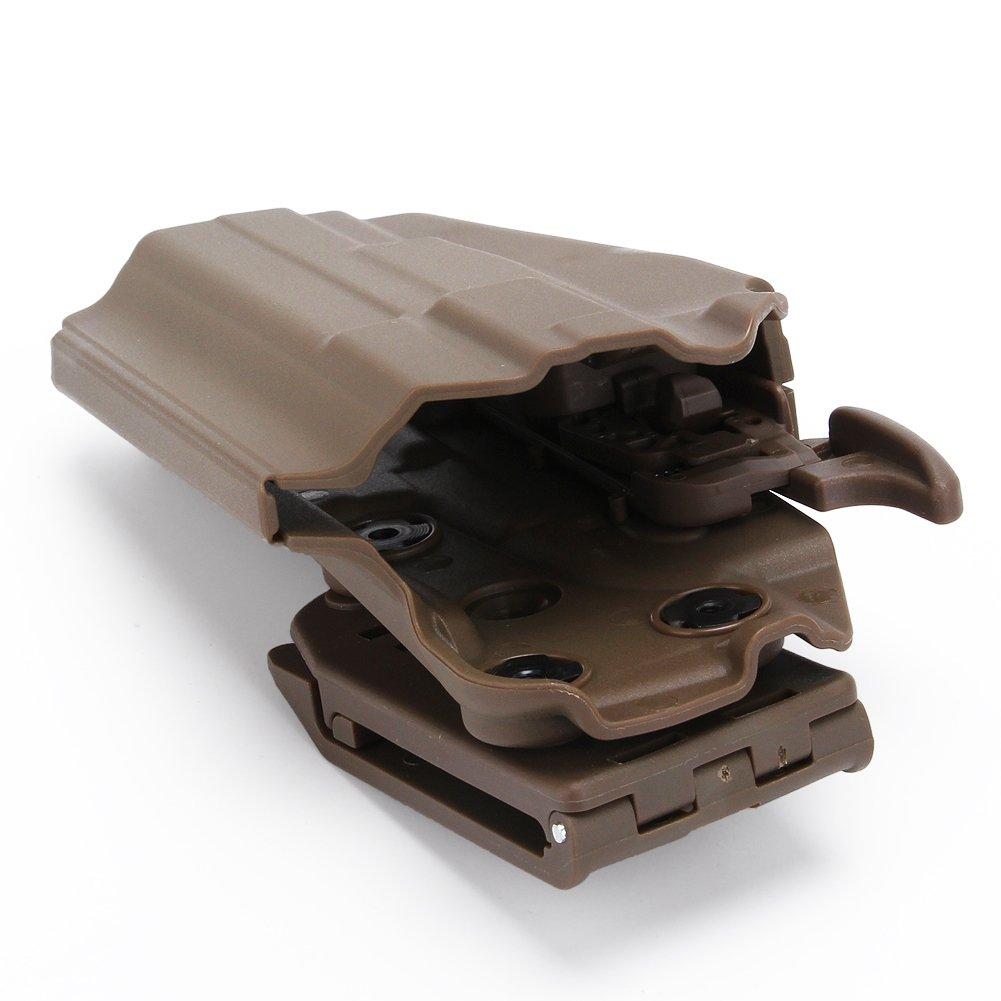 Ceinture Tactique Holster Quick Pull Pistol Case pour Glock 17 23 sig p226 Accessoires de cin/éma