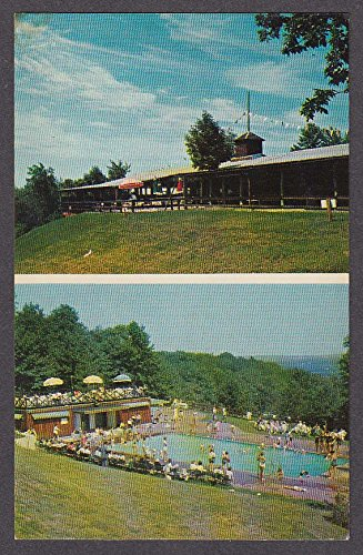 Holiday Hill 509 West Main Cheshire CT postcard 1950s