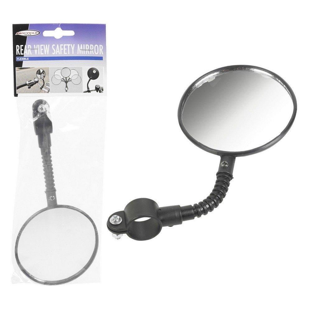 Trois-Couleur-Specchietto retrovisore per bicicletta, flessibile, con vetro di sicurezza per bambini Loulomax