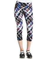 Calvin Klein Performance Printed Cropped Leggings Multicolor X-Large