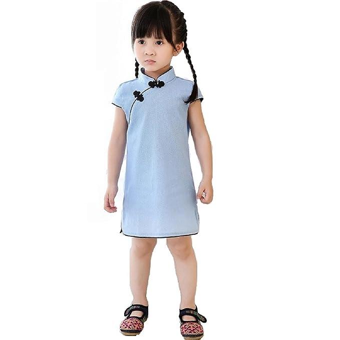 Reveryml Niña Vestidos Año Nuevo Chino Baby Girls Dress Niños ...