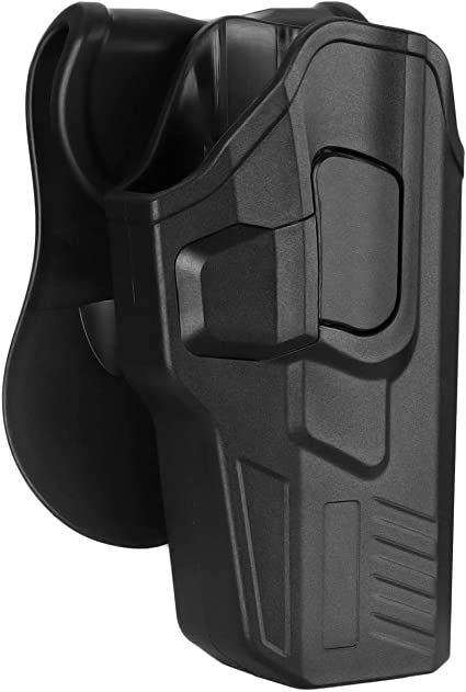 19 Shirt Holster for Glock 17 43 with Light or Laser Right Handed Black 26