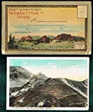 download ebook album of exclusive views of the garden of the gods and vicinity: mailer book of 19 tinted half-tone postcards (post cards) pdf epub