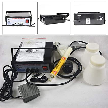 Portable Powder Coating System Paint Gun Coat Pc03 5 Electrostatic
