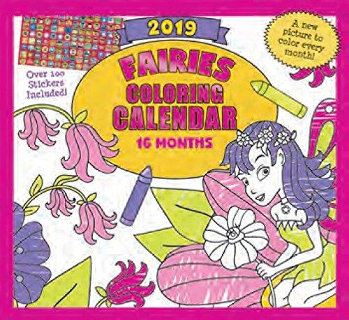 (2019 Kid's Activity Wall Calendar - 16-Months)