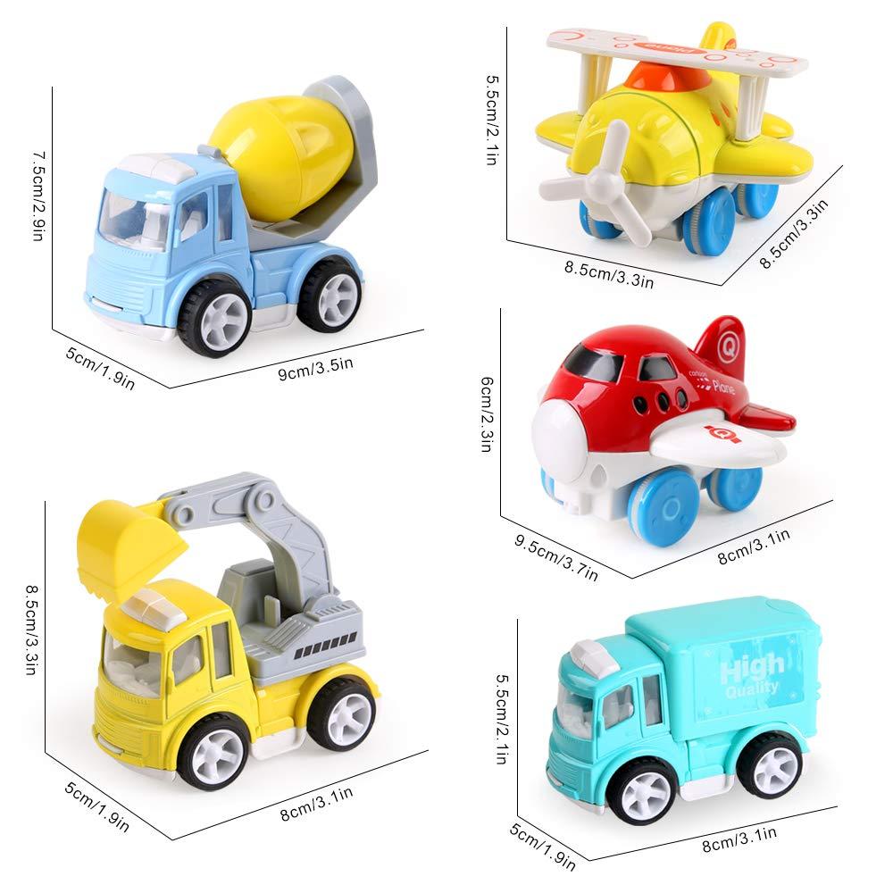 Beebeerun Jouet Petite Voiture 5pcs Vehicule De Camion N8wvmn0O