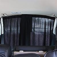 Cortinas para Mercedes Vito Viano W639 distancia entre ejes corta 2014 protecci/ón solar a partir de 2003 color: negro
