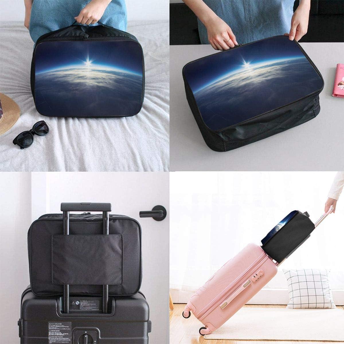 Seamless-lemon Travel Carry-on Luggage Weekender Bag Overnight Tote Flight Duffel In Trolley Handle