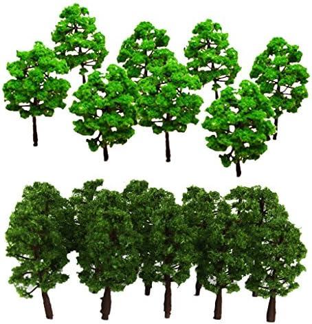 T TOOYFUL 樹木 モデルツリー ツリー模型 箱庭 鉄道模型 建物模型 情景コレクション ジオラマ 教育 DIY