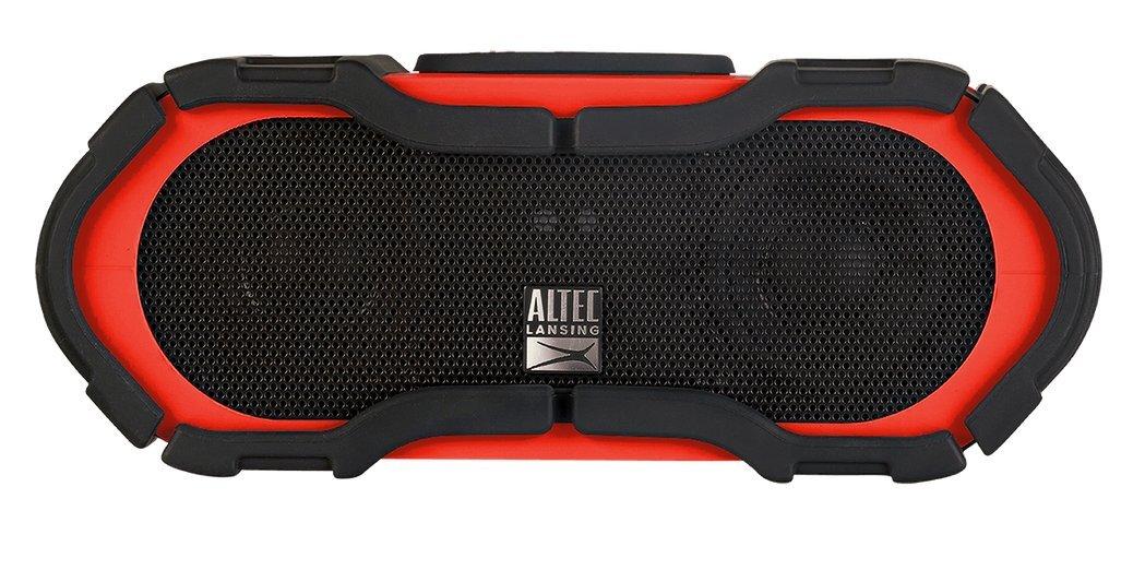 Altec Lansing IMW576-RED Boom Jacket Bluetooth Speaker, Red
