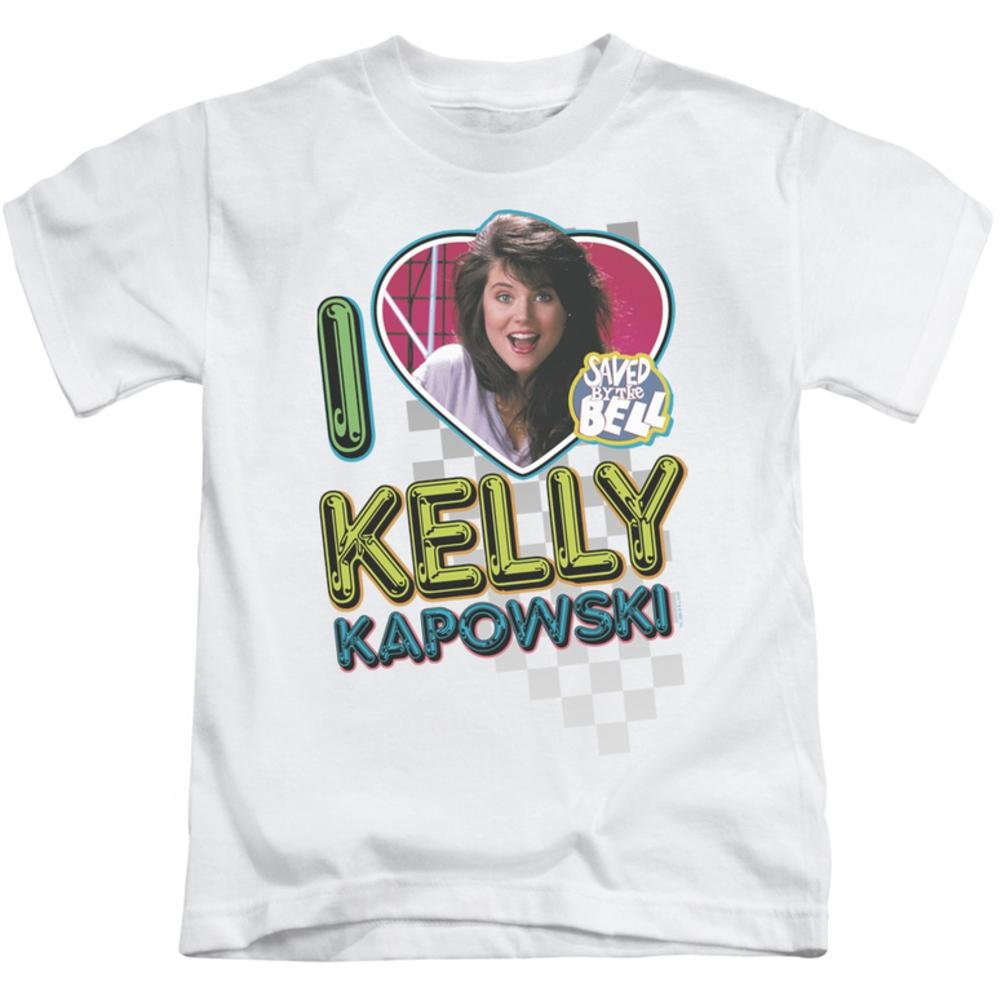 Juvenile: Saved By The Bell - I Love Kelly Kids T-Shirt Size 4