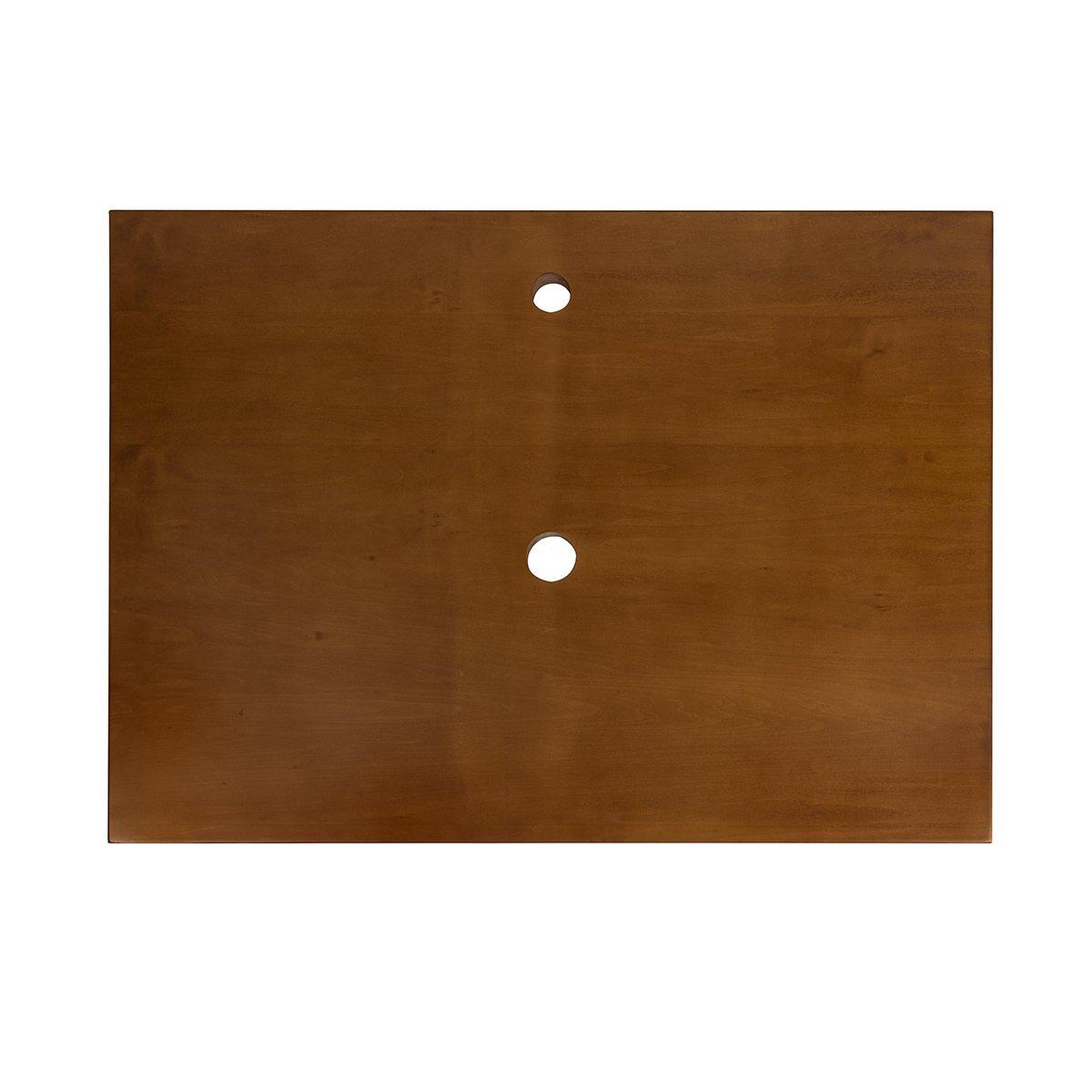 Cinnamon 518331-1-F08 Ronbow Essentials 31 Wood Top W//Single Faucet /& Drain Holes
