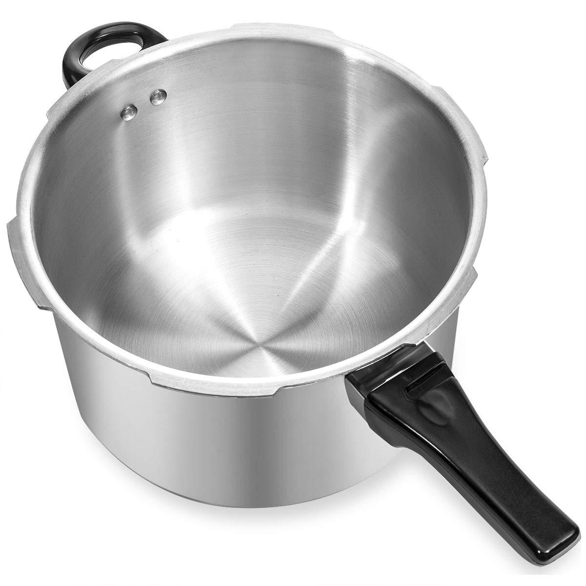 Barton 8-Quart Aluminum Pressure Cooker Stovetop Fast Cooker Pot Pressure Regulator Fast Cooking Steam Release Valve by Barton (Image #6)