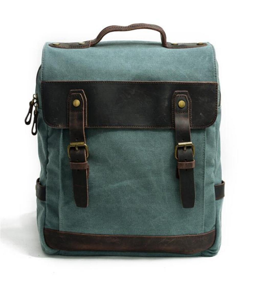 BEIBAO Doppelte Schulter-Beutel-Segeltuch-Kursteilnehmer-Schultasche Freizeit-Computer-Rucksack Reise-Einkaufen-Schule Fünf Farben 31  11  39cm 1.2KG