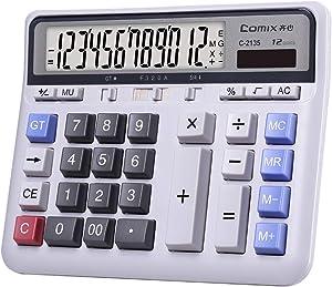 Comix C-2135 Large Computer Keys Calculator 12 Digit