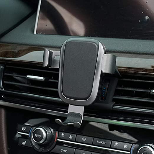 Amazon Com Phone Holder For Bmw X5 Adjustable Air Vent Phone Holder Bmw Dashboard Cell Phone Holder For Bmw X5 2017 2018 Phone Mount For Iphone 8 Iphone X Wireless Charging Smartphone 5 5 6 Inch