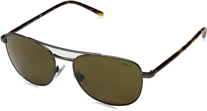 Ralph Lauren POLO 0PH3107 Gafas de sol, Aged Bronze, 55 para ...