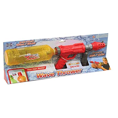 Sizzlin' Cool Wave Thrower Water Blaster Gun (Colors/Styles Vary): Toys & Games