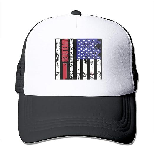 37171d6ce Amazon.com: Welder Us Flag Digital Art by Trisha Vroom Unisex Adult ...